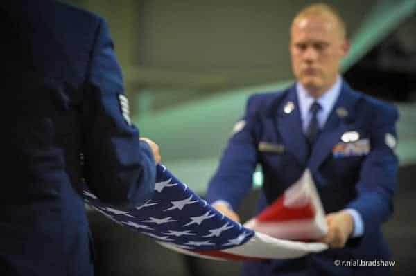 flag-folding-ceremony by r. nial bradshaw