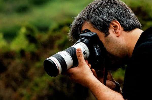 The photographer by Pedro Ribeiro Simões