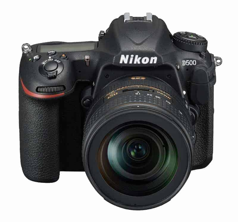 Nikon D500 Review: Front View