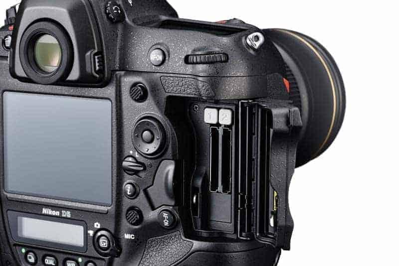 Dual Storage of Nikon D5