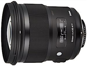 Best 50mm Lens for Nikon DSLR cameras: Sigma 50mm F1.4 DG HSM Art Lens