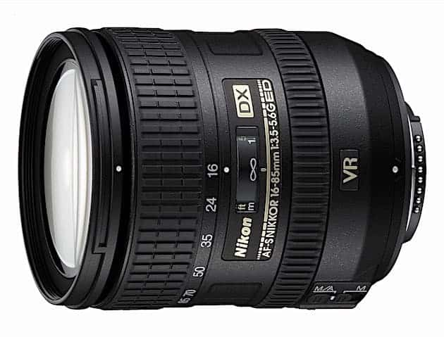 Nikon AF-S DX NIKKOR 16-85mm f:3.5-5.6G ED Vibration Reduction Zoom Lens